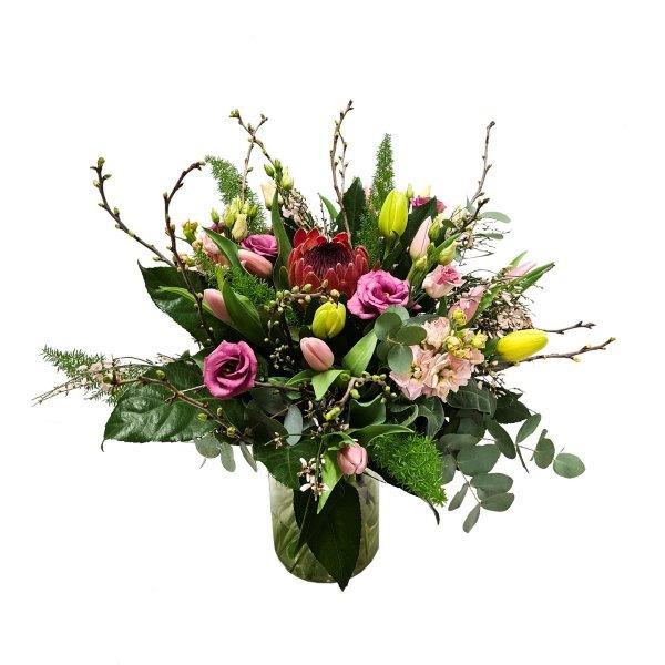 Boeket bloemen Coby
